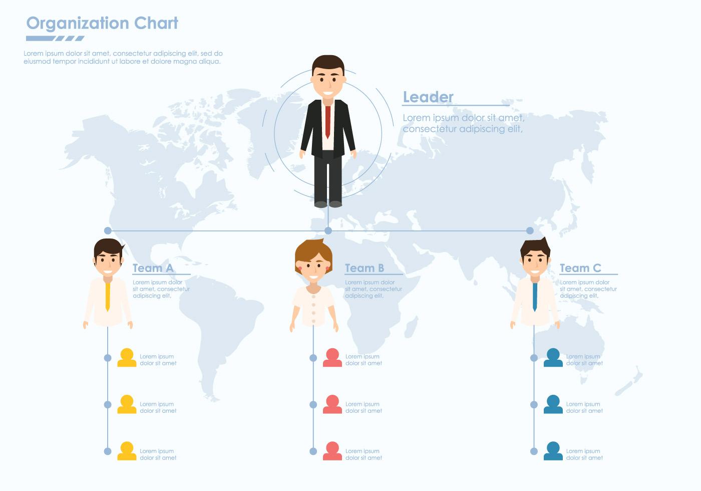 Инфографика в виде иерархии