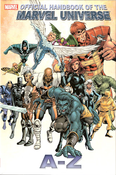 Official Handbook of the Marvel Universe, A-Z, v. 1 cover