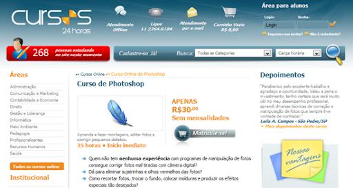 Curso de Photoshop - Cursos 24 Horas