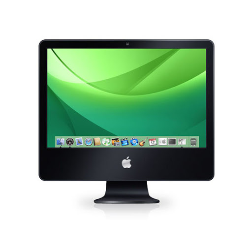 Tutorial desenhar um Black iMac