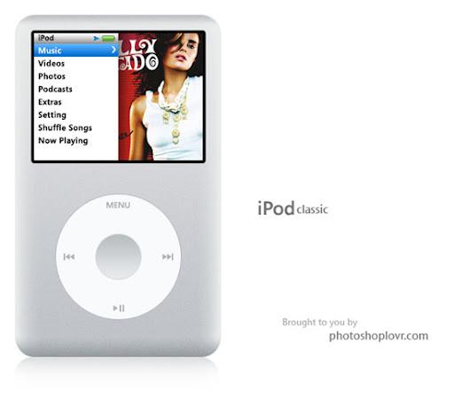 Tutorial desenhar um iPod Clássico