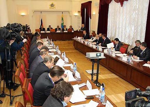 Заседание Координационного Совета Союза представительных органов муниципальных образований Российской Федерации