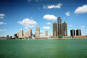 Picture of Detroit skyline