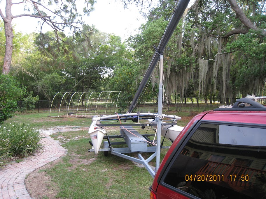 Hobie Forums • View topic - Single handed mast raising for