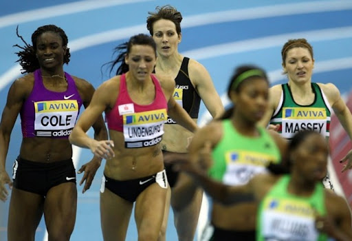 400м - Aviva Birmingham Indoor Grand Prix 2011