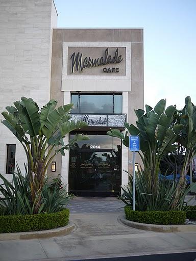 Marmalade Cafe El Segundo Menu