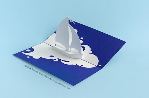 Картинки, открытка своими руками паруса
