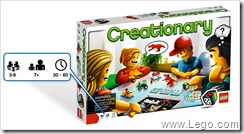 LEGO Creationary Game 2