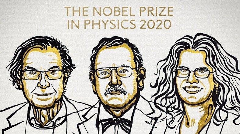 2020 Nobel Fizik Ödülü'nün Kazananları Açıklandı