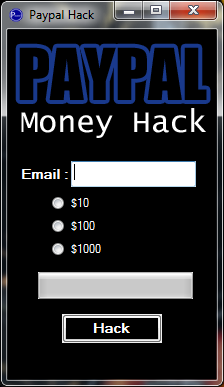Paypal Money Hack Generator 2011