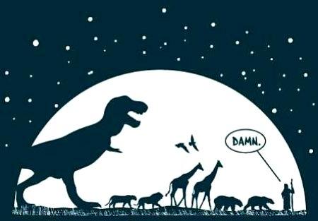 Noasa šķirstā bija arī dinozauri