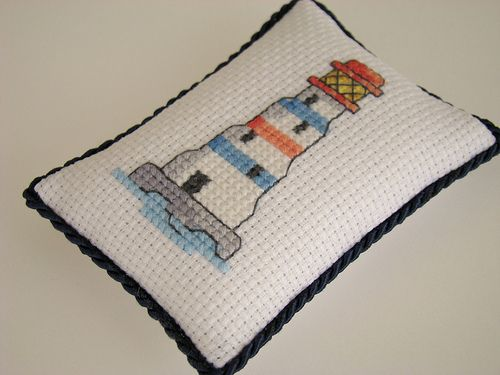 lighthouse pincushion