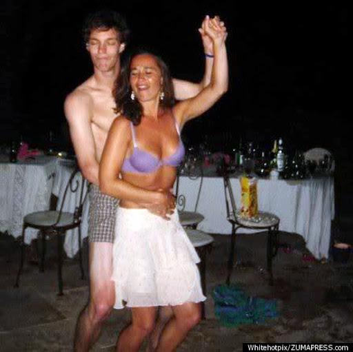 Pipa Middleton ropa interior bailando