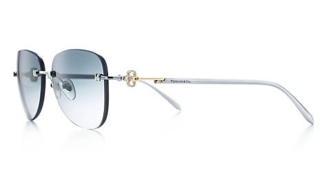 Tiffany Aviator Sunglasses  tiffany keysrimless aviator sunglasses