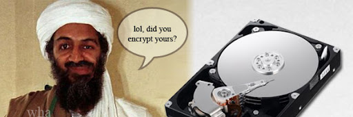Osama Bin Laden Encrypted Treasure Hard Drive Cracking Truecrypt PGP