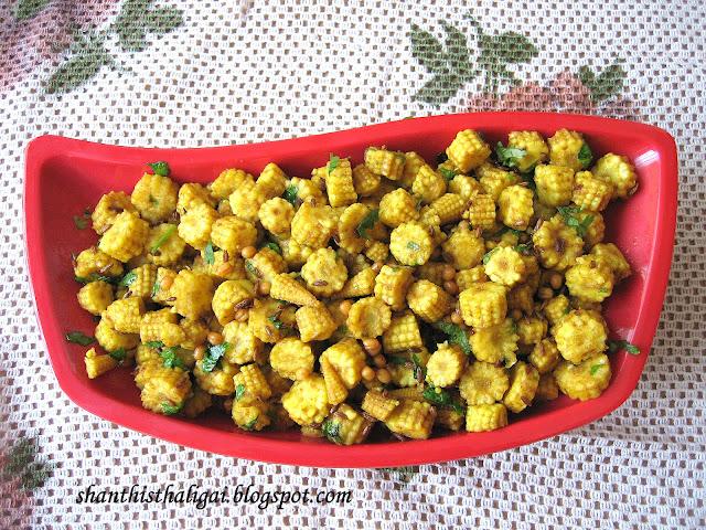 Shanthi krishnakumars cook book baby corn stir fry south indian baby corn stir fry south indian style forumfinder Choice Image