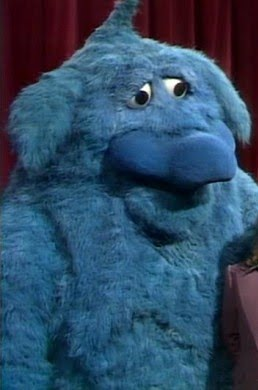 blue muppet monster