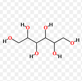Sorbitol compound chemical structure