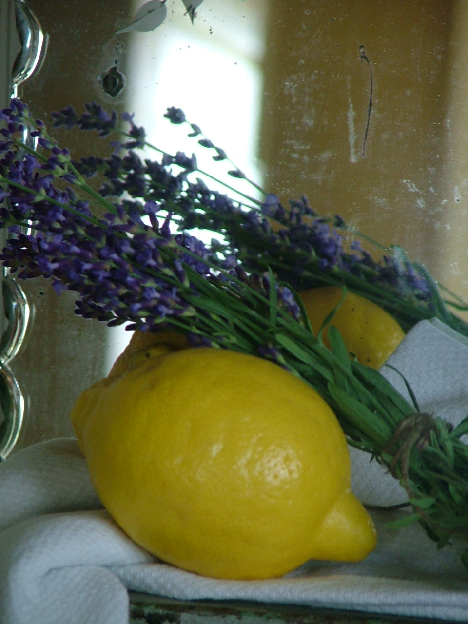 lemon and lavender