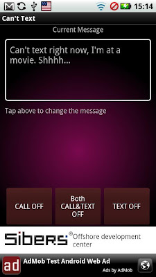 Make Your Android Phone Reply Back To Messages And Missed Calls With Can't Text