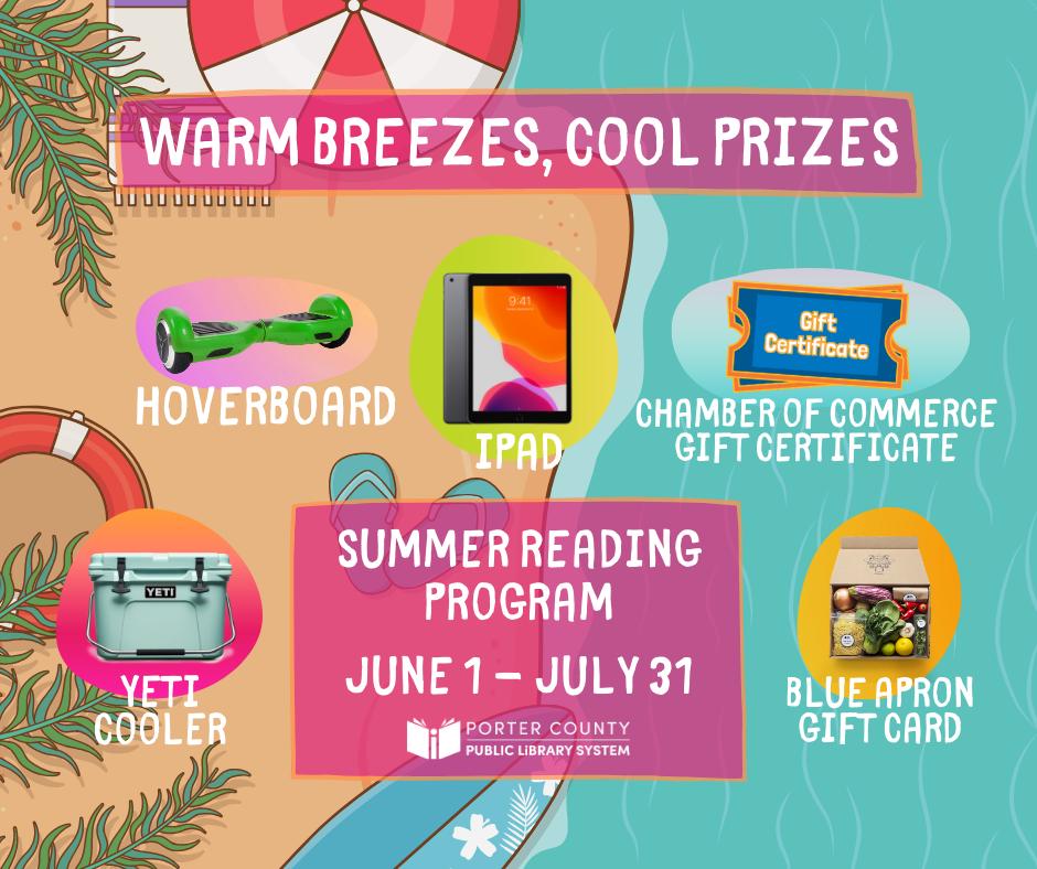 Porter County Public Library Summer Reading Program