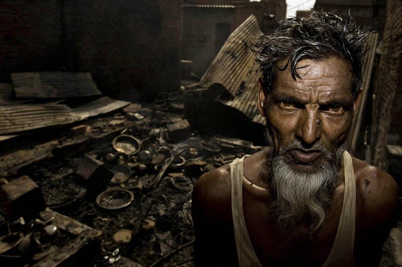 A Fire in a Slum