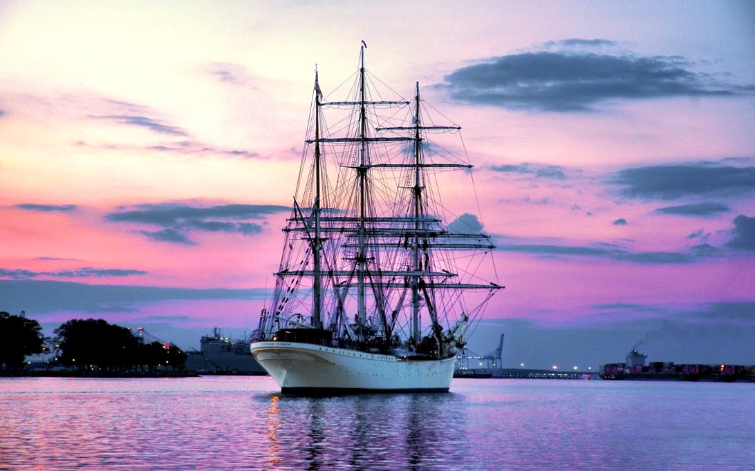 USCGC Eagle Sailing Ship Wallpaper 3