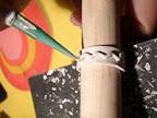 decoracion jeringuilla anil   Anillo de tira