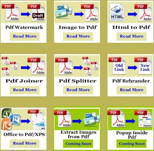 Modificare, unire, trasformare e non solo i file PDF con PDFaid