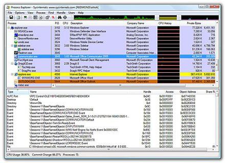Scoprire i programmi quali file e cartelle utilizzano