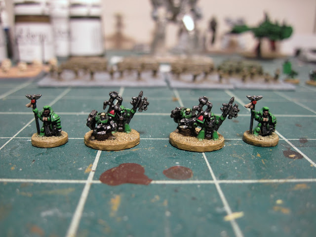 Techmarines and Librarians