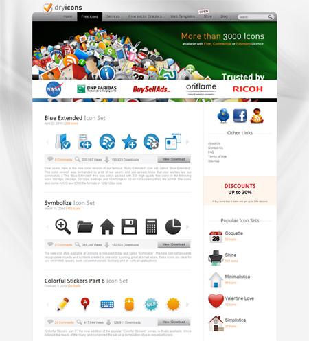 архив бесплатных иконок
