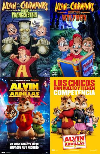 Películas de Alvin y las Ardillas
