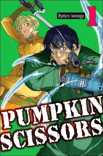 Portada de Pumpkin Scissors