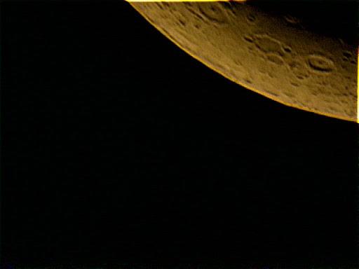 今日拍的两张月球