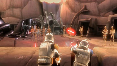 free Lego Star Wars III The Clone Wars for psp