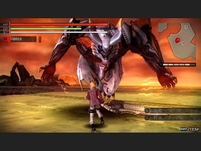 free Gods Eater Burst for psp