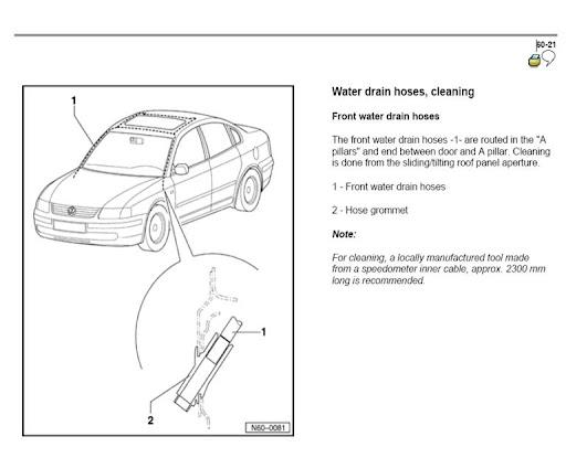Water Behind Driver Seat Under Carpet