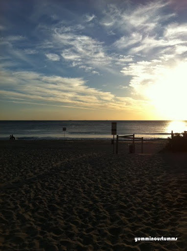 sunset beach scarborough beach perth