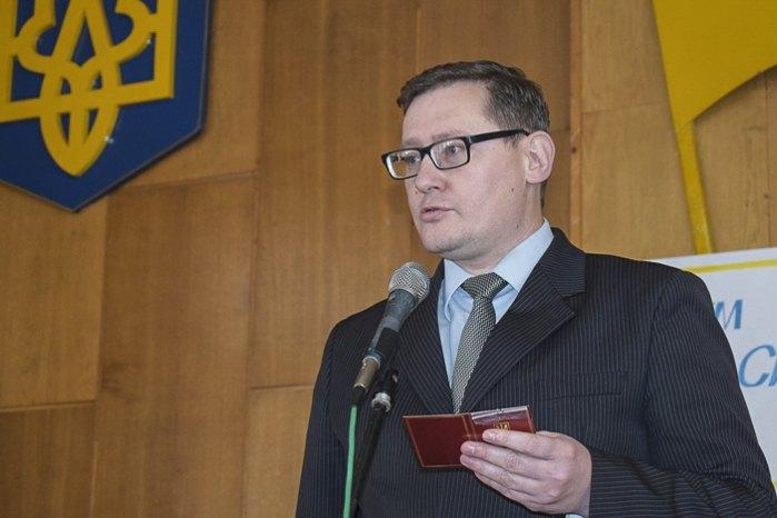 Заступник голови райдержадміністрації Віктор Турок