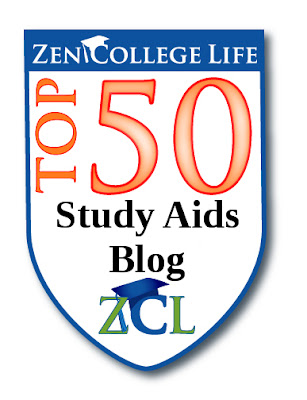 ZenCollegeLife Top 50 Study Aid Blog