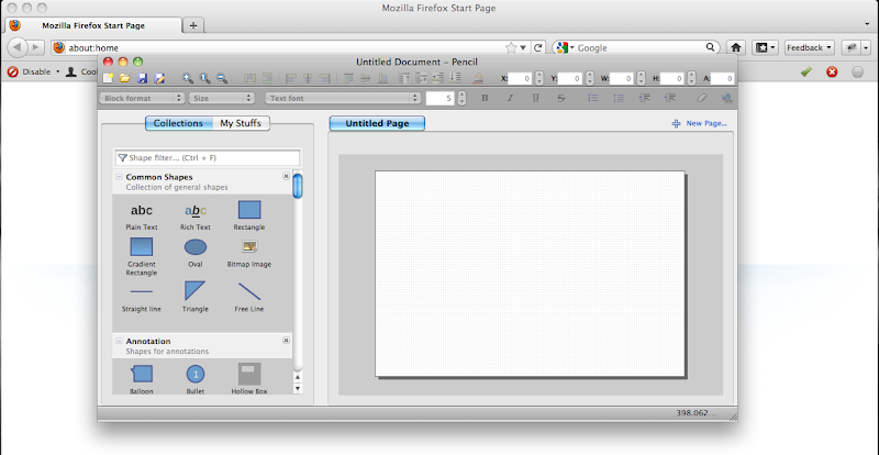Pencil AddOn on Mac OS X