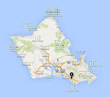 パイナップル・ルーム(The Pineapple Room )・地図