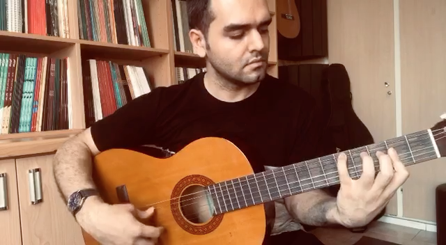 بولرياس از پاكودلوسيا فرزین نیازخانی گیتار