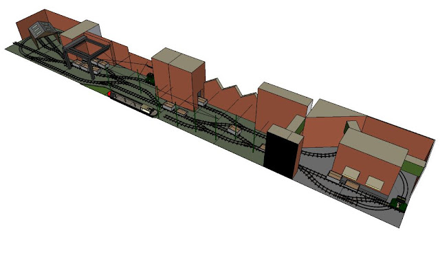 Sketchup model of extra modules