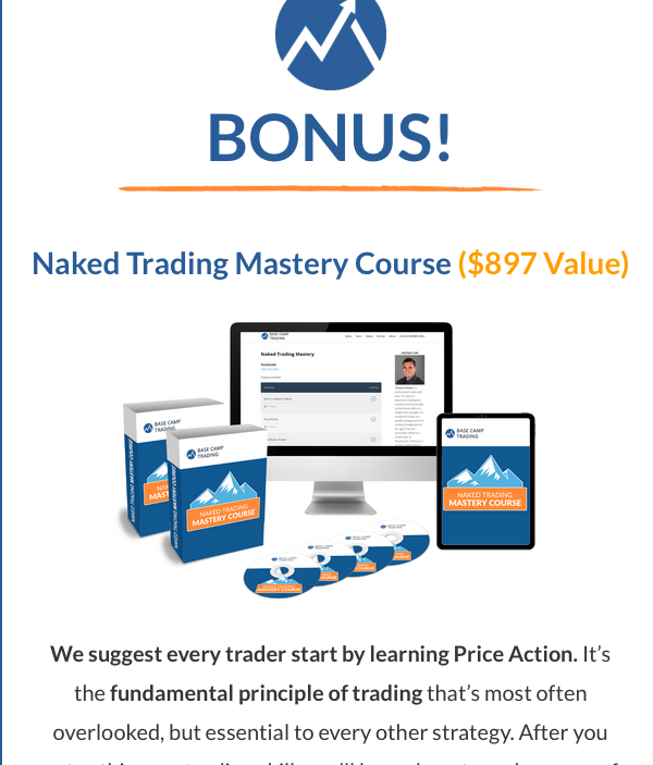 Base Camp Trading's course pop-up