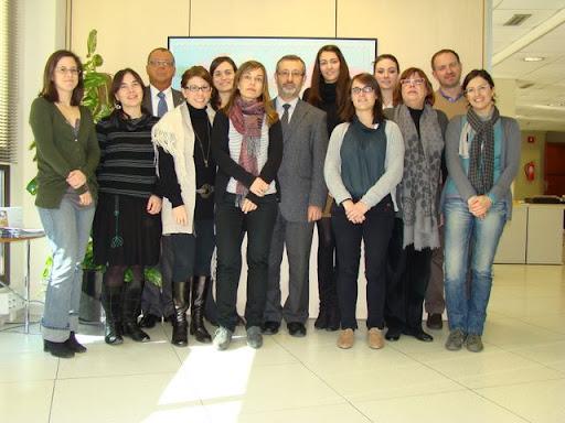 L'equip de la direcció general de Relacions Internacionals