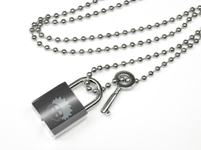 NARUTO Lock Key pendant Necklace