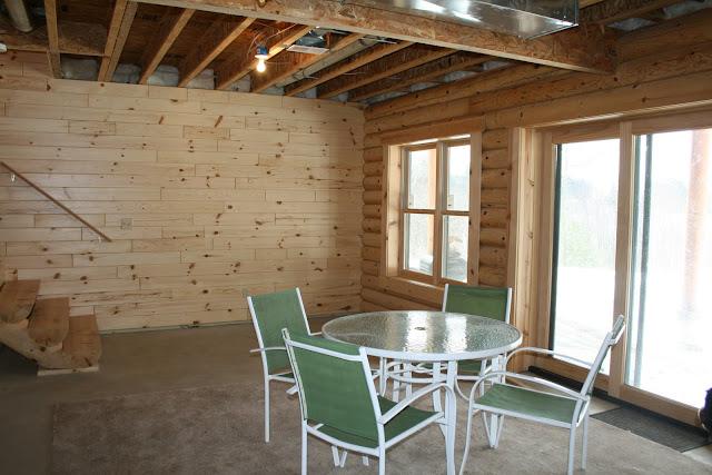 Building A Log Cabin Finishing The Cabin Basement