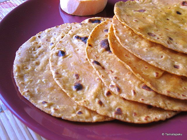 Sweet Potato Chapati